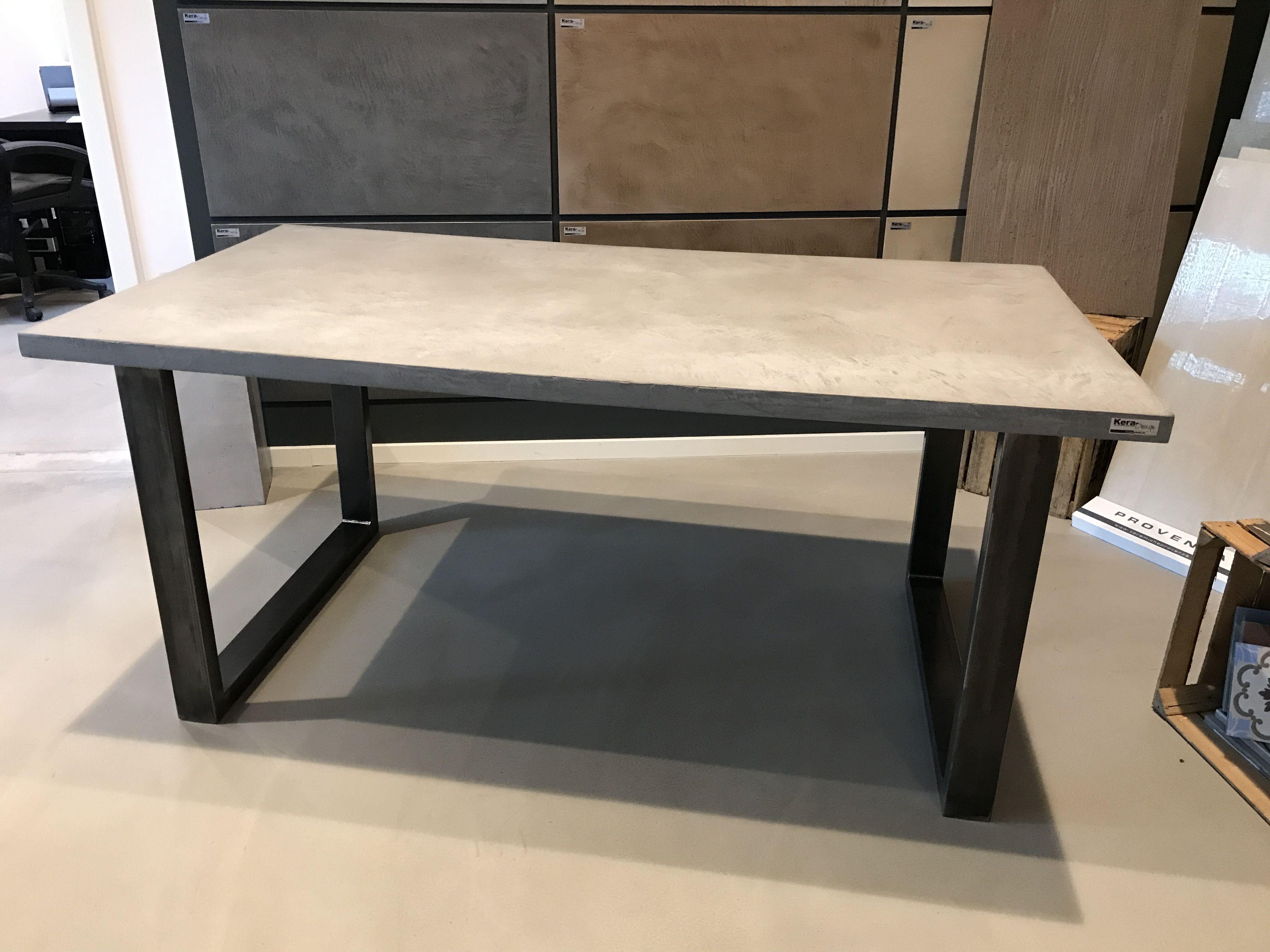 diy anleitung beton tisch selber bauen mit carameo beton cire