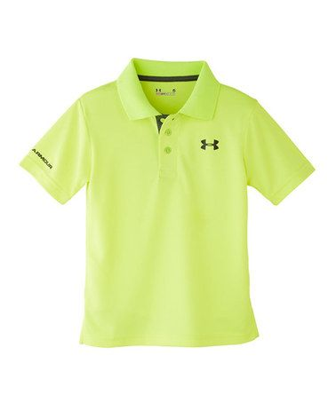 2232aac48 Loving this High-Vis Yellow Match Play Polo - Infant   Toddler on  zulily!   zulilyfinds