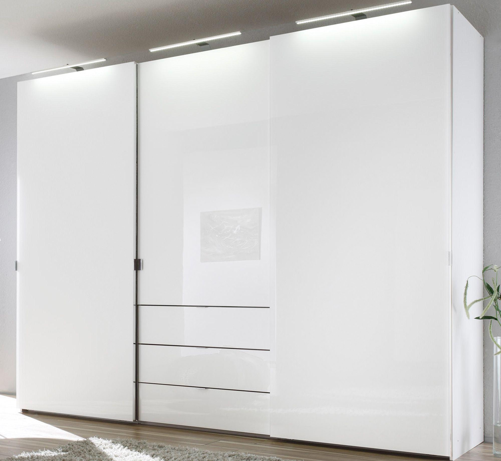 Kleiderschrank schiebetüren weiß  Genial kleiderschrank schiebetüren 2 50 m | Deutsche Deko ...