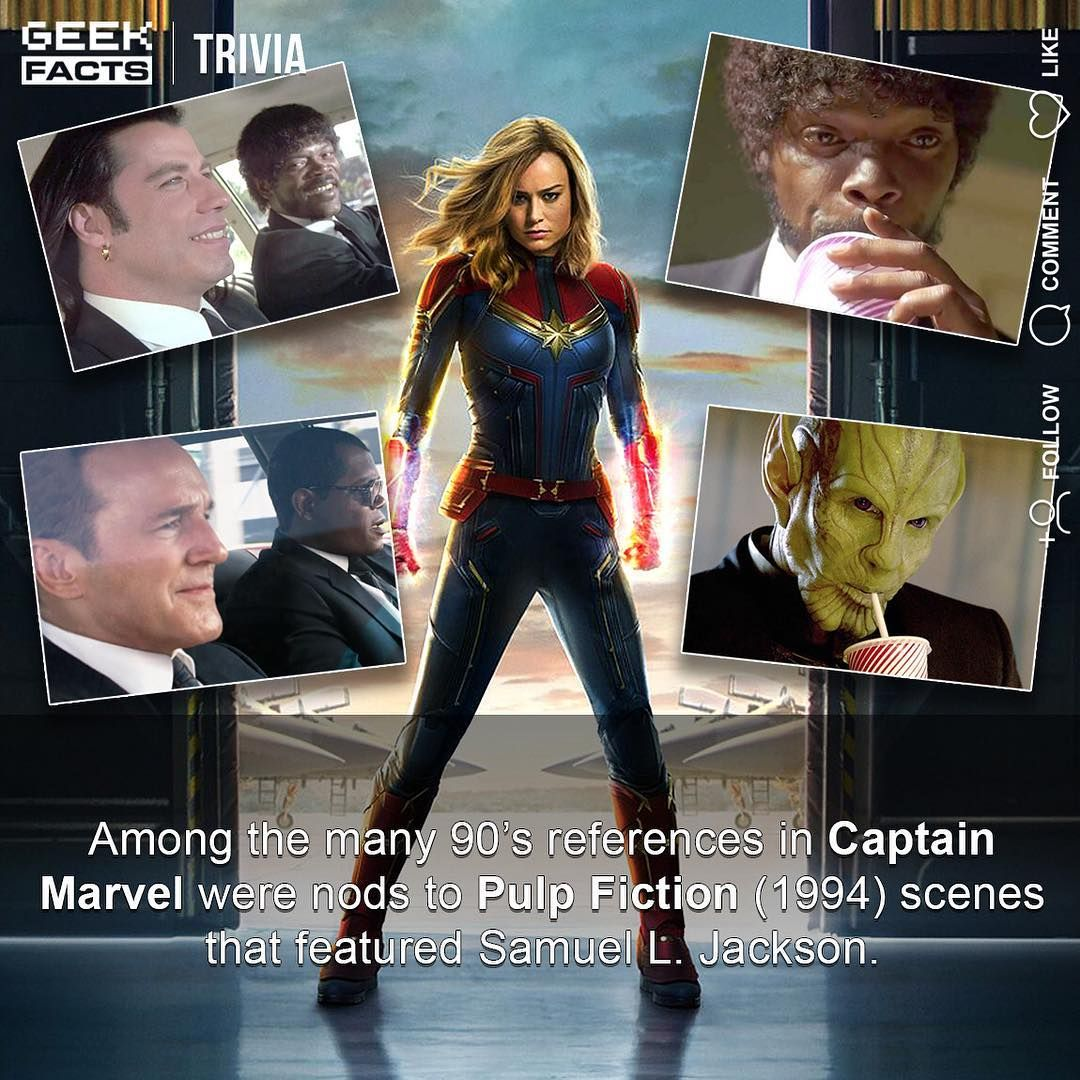 """geek facts on instagram: """"where does captain marvel rank in"""