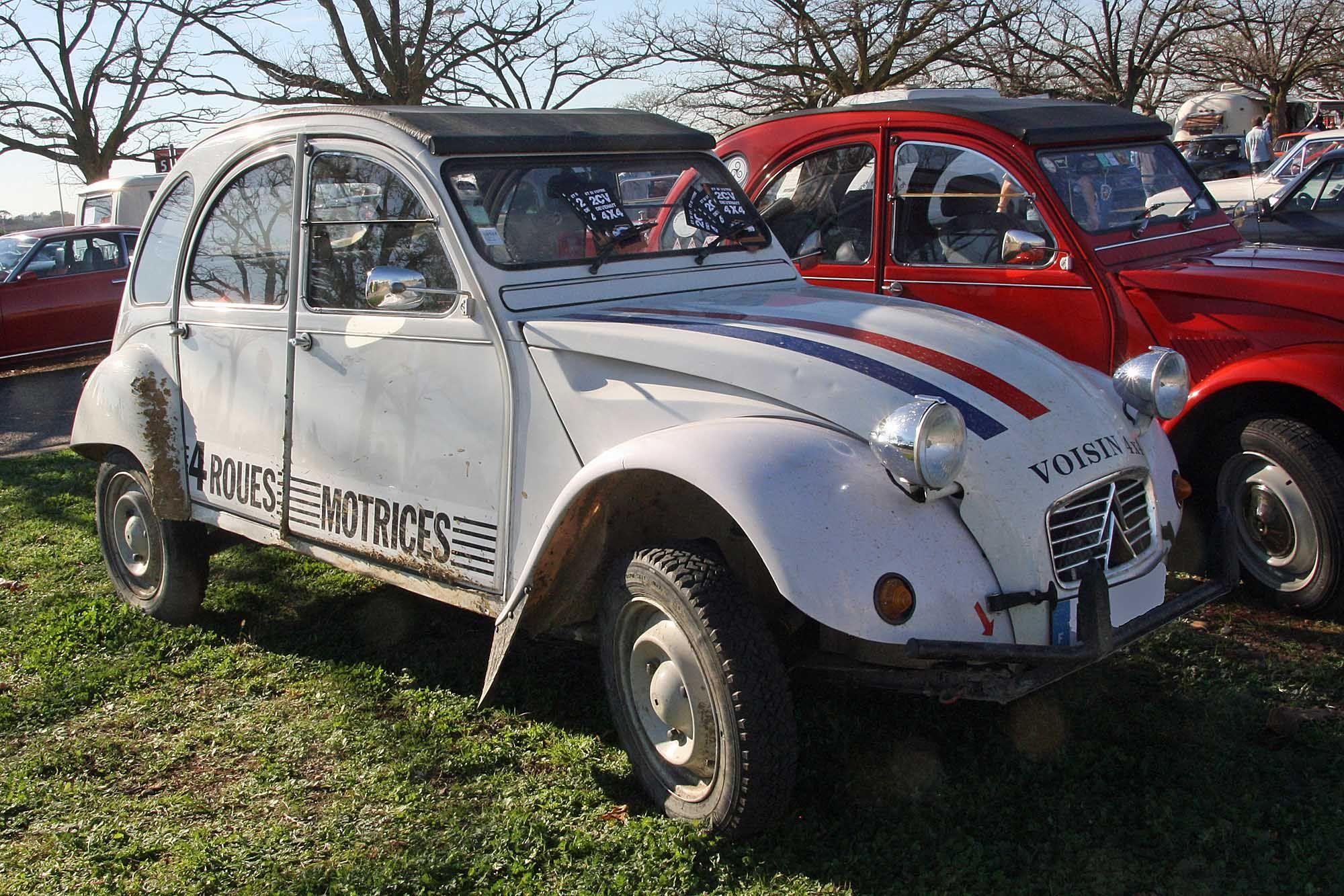 Citroën 2cv 4x4 Voisin La 4x4 Voisin Type Mine AZKA 4x4