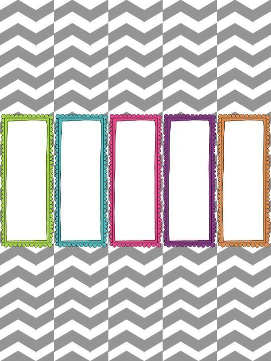 Make It Look Good Organizational Freebie Binder Cover Templates