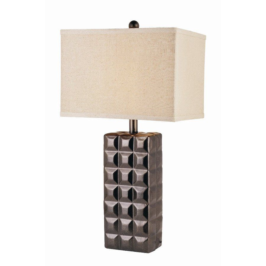 Bel Air Lighting Autumn Mink Ceramic Table Lamp With Cream Shade, Loweu0027s  Canada
