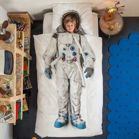 Increible acolchado de astronauta