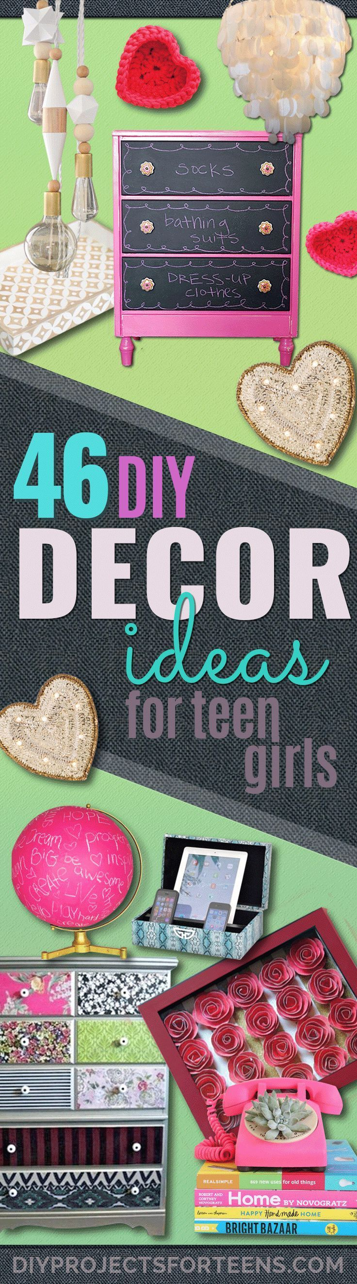 43 most awesome diy decor ideas for teen girls diy teen room decor 43 most awesome diy decor ideas for teen girls solutioingenieria Gallery