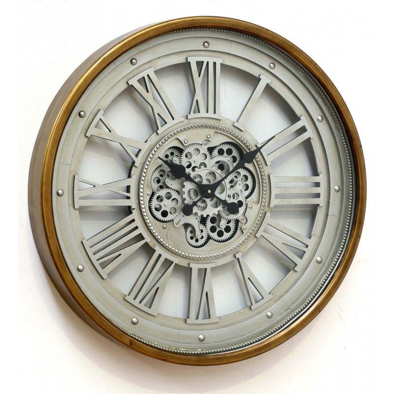 Reloj Pared Red 80 Reloj De Pared Red 80 Maquinaria Visible Medida 80x80 Ancho 11 Cm Relojes De Pared Decoración Entradas De Casa Decoración De Entrada