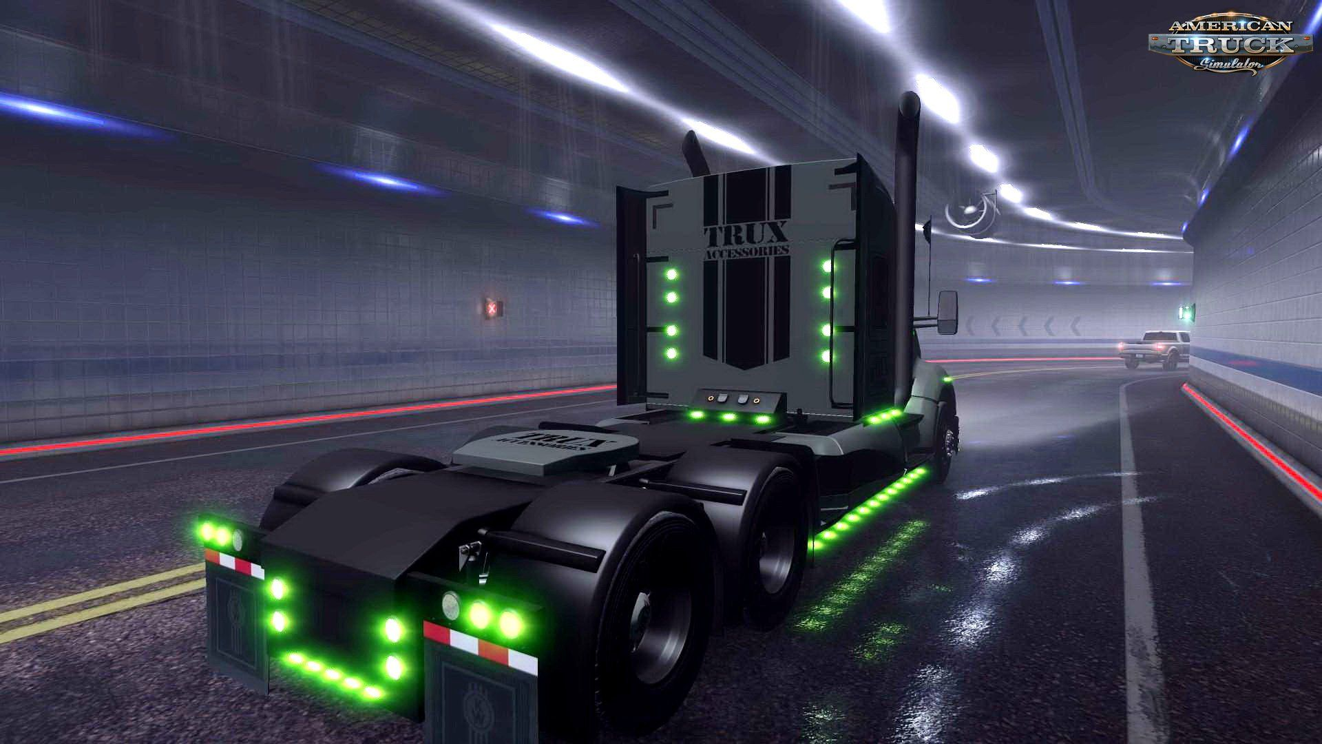 Kenworth T680 The General Interior V1 3 By Harven 1 36 X With