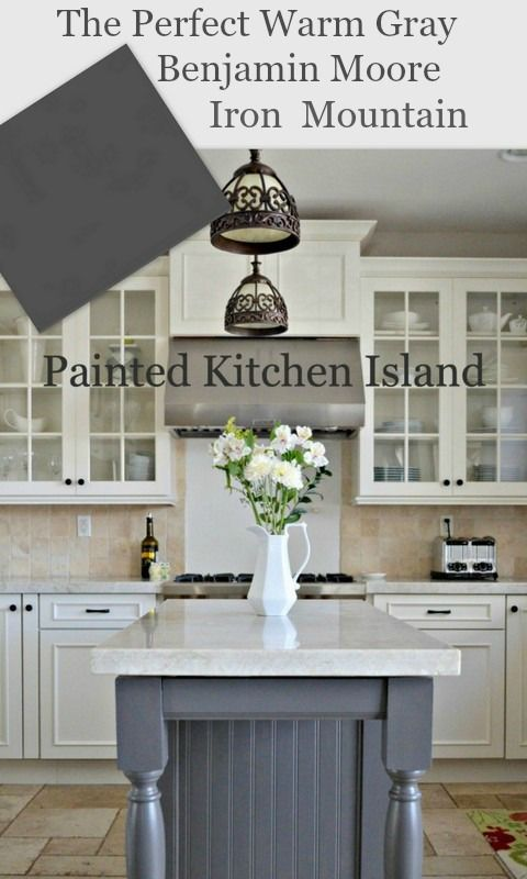 Elegant Island: Looking For A Warm Gray, Benjamin Moore Iron Mountain Is Perfect!