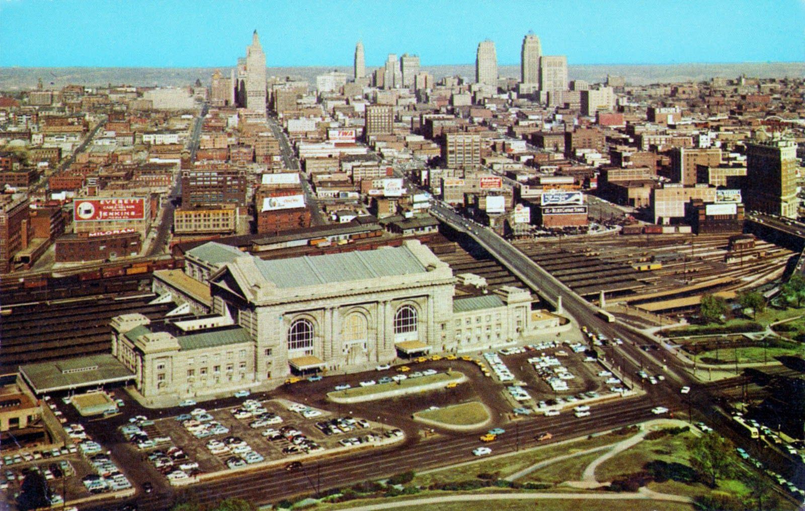 Kansas City Union Station Mo Kansas City Skyline Kansas City Union Station Kansas City