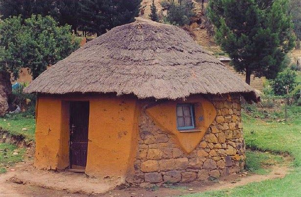 Stories To Tell Lesotho Winter Is Passing Natural Building Lesotho Vernacular Architecture