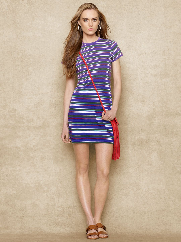 Striped tshirt dress short dresses dresses ralphlauren