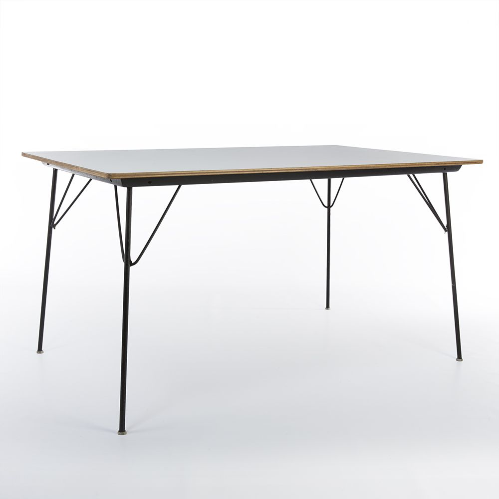 DTM 10 Drop Table In White By Charles And Ray Eames For Herman Miller And