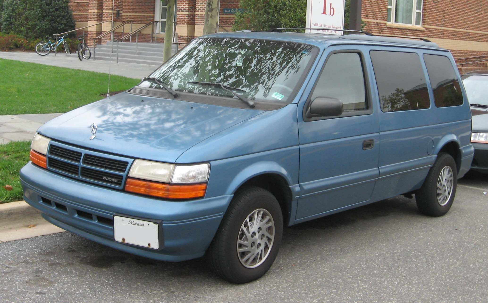 Dodge Caravan Wikipedia The Free Encyclopedia Mini Van