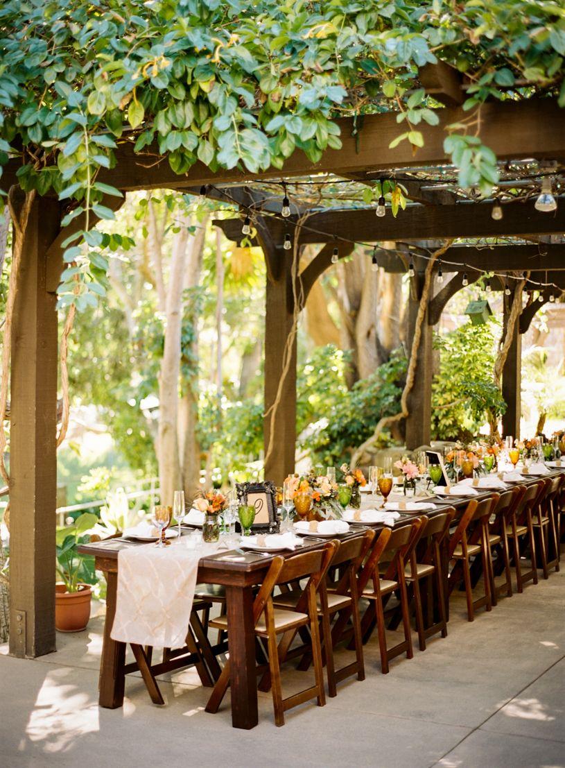 Circle Bar B Ranch Wedding | Wedding trellis, Modern ...