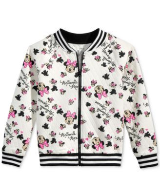 0f8f36e2e7c5 Disney s® Minnie Mouse Quilted Bomber Jacket