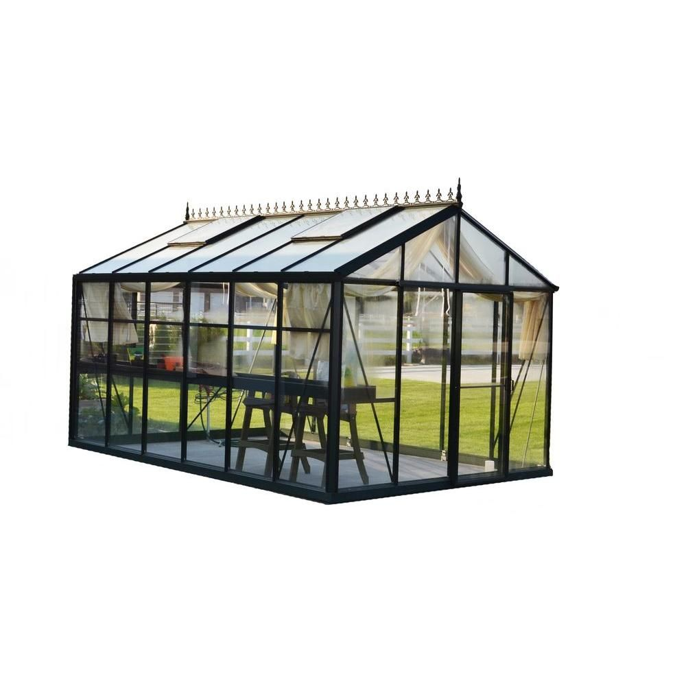 Exaco Royal Victorian 10 Ft X 15 Ft Greenhouse Vi 34 Pp4l The Home Depot Modern Greenhouses Victorian Greenhouse Backyard Greenhouse Backyard greenhouse home depot