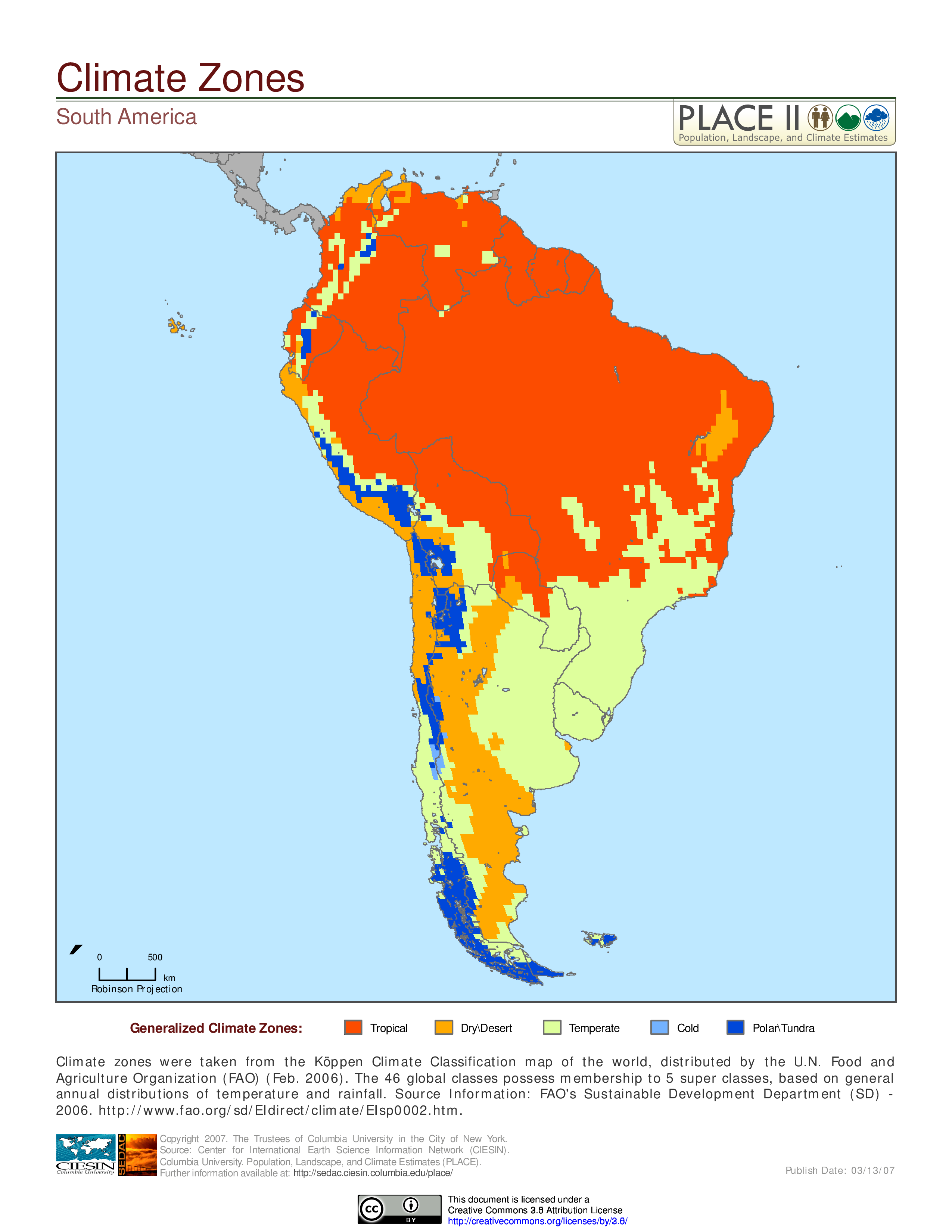 Climatic Zones of South America | MAPS | Pinterest | South america