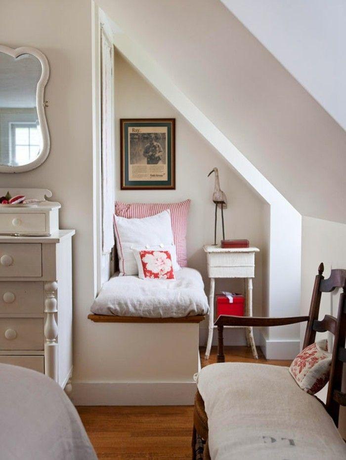 Kleines Schlafzimmer einrichten und den verfügbaren Raum optimal nutzen   Bedroom nook, Small ...