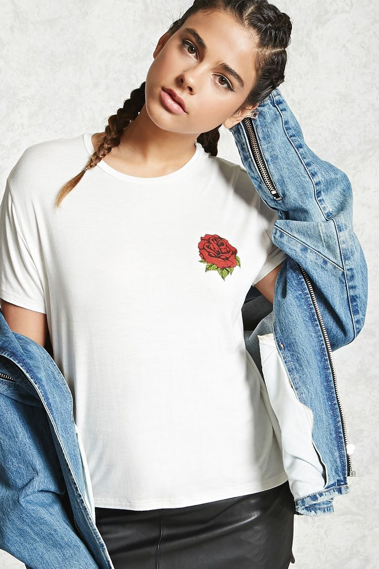 Rose Graphic Tee - F21