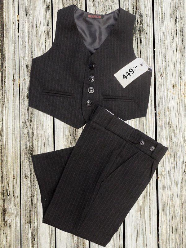 13ba60062aaa Kostym kritstreckrandig - Barnkläder - 100 years | Kids Clothes ...