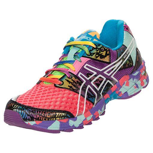 best service 5e307 d565c Women s Asics GEL-Noosa Tri 8 Running Shoes   FinishLine.com   Coral Purple  Multi