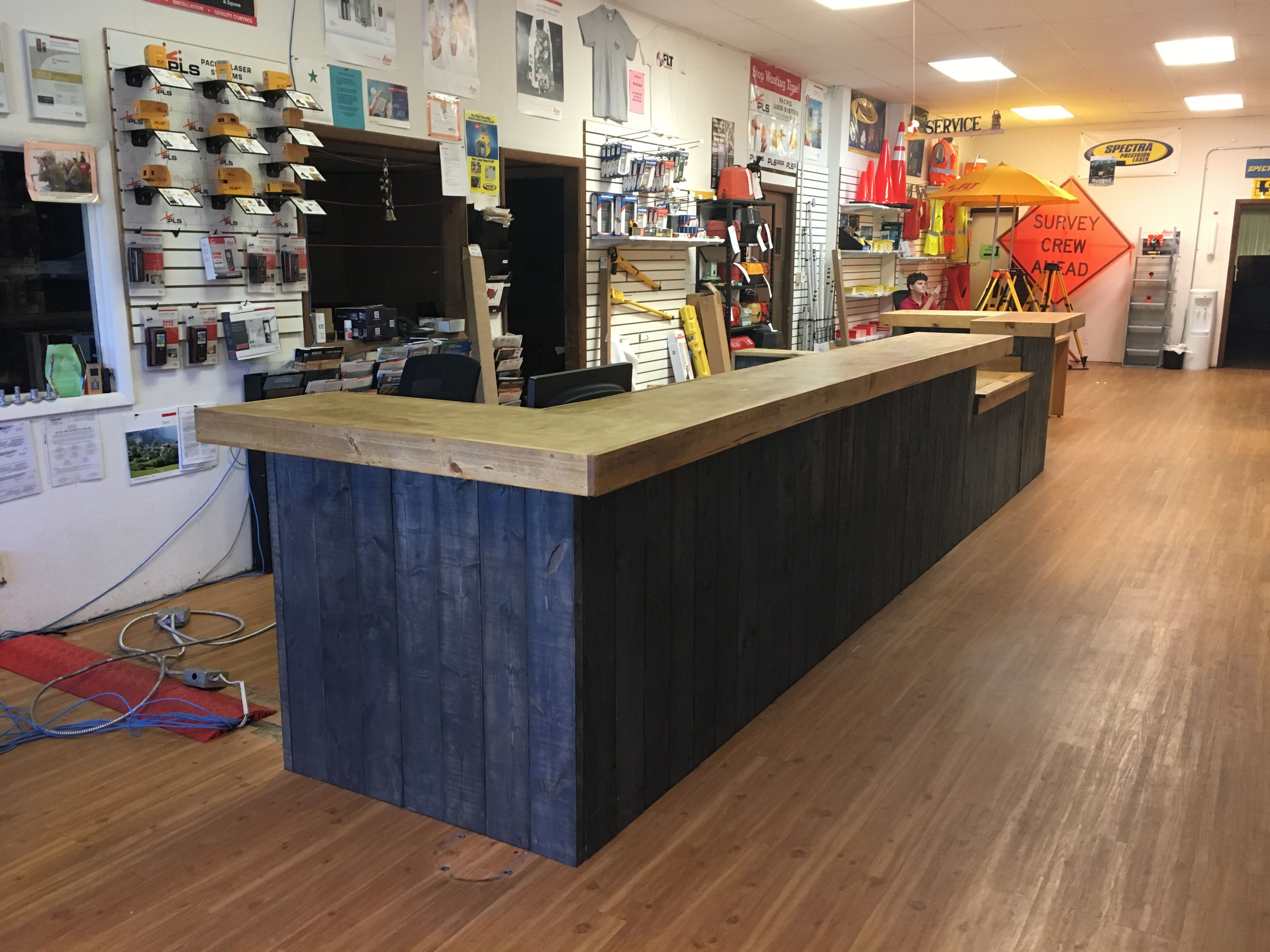Sale Counter Design Pin By Foo Bars Designs Llc On Rustic Reception Desks