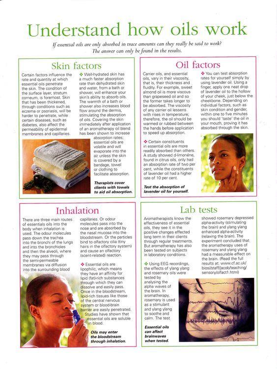 Mind, Body, Spirit Collection - Understand How Oils Work