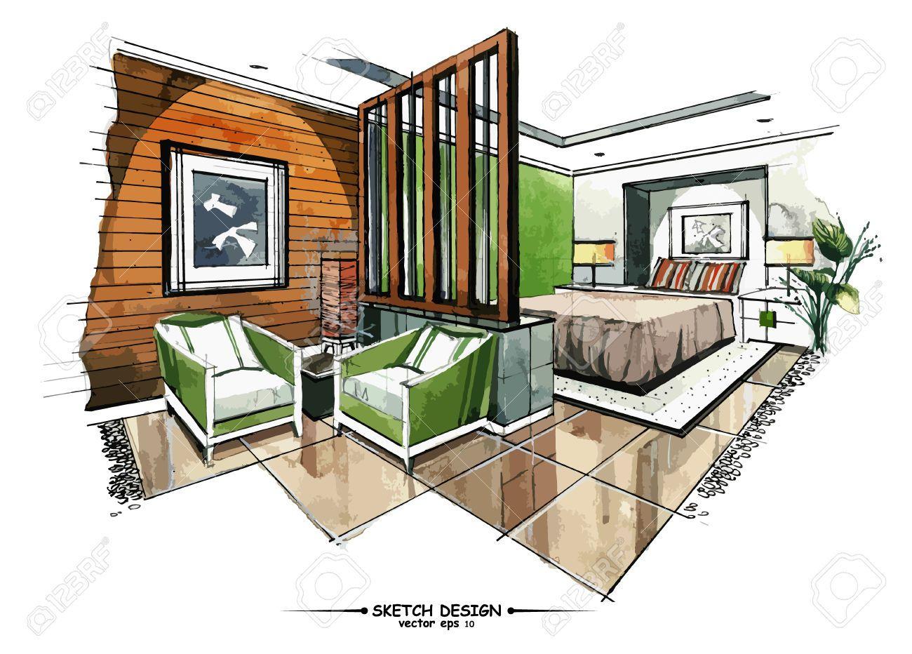 resultado de imagen para interior design floor plan sketches