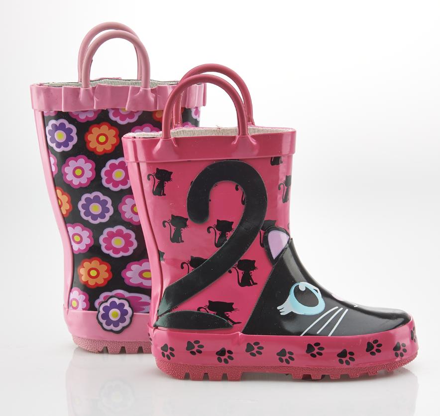 Kids Rain Boots / Botes de pluie en caoutchouc pour enfants