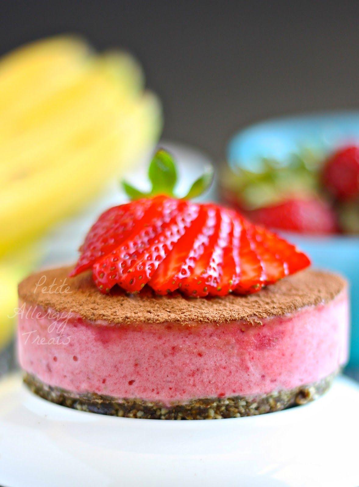 Easy Strawberry Shortcake Gluten Free Vegan Recipe Raw