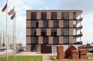 Bürolofts in der Bremer Überseestadt. Röben Handform-Verblender MOORBRAND…