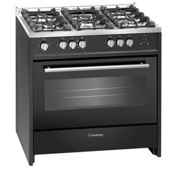 Cocina Meireles G910bl 5 Fuegos Encimera Y Horno De Gas Butano Quemador Wok Cocinas De Butano Horno De Gas Cocina De Gas