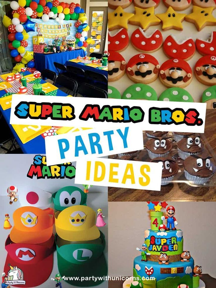 20 awesome super mario party ideas with free super mario