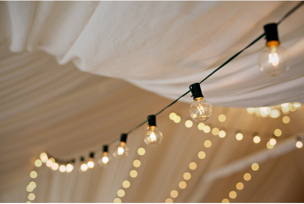 wedding tent lighting ideas. Bee Lights In A Wedding Tent - Gorgeous! Lighting Ideas