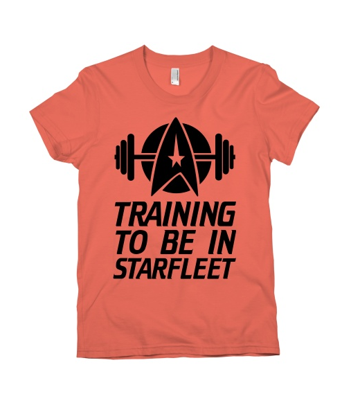 Training to be in Starfleet | Activate Apparel
