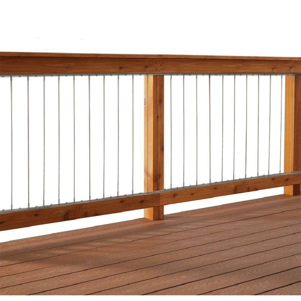Deck Wire Railing Kit | http://grgdavenport.info/ | Pinterest ...