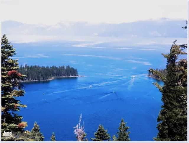 Birds eye view - Lake Tahoe image by nenanitrips - Photobucket