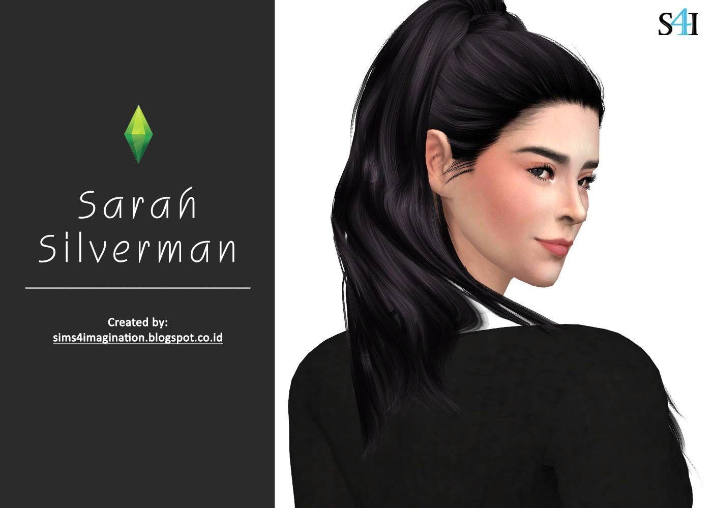 My Sims 4 CAS Sarah Silverman Sims 4 cas, My sims