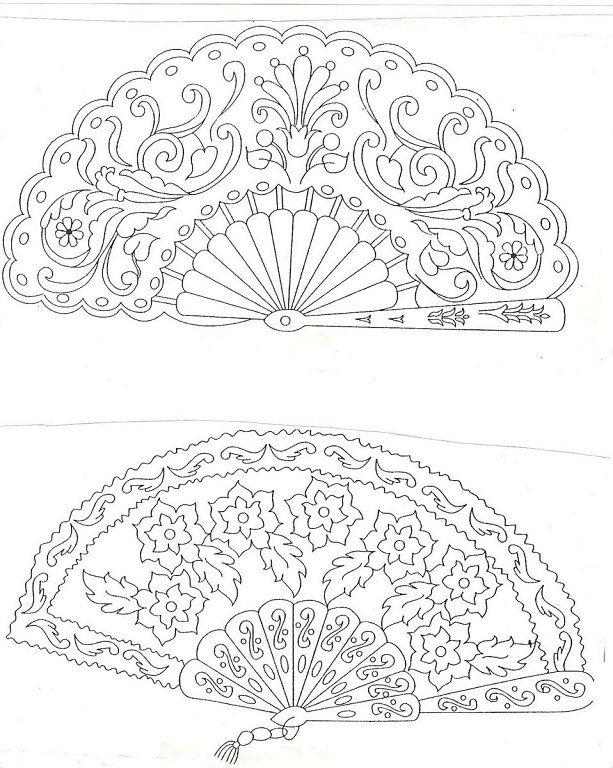 bordados en tul … | Things i would like to color!!!! | Pinte…