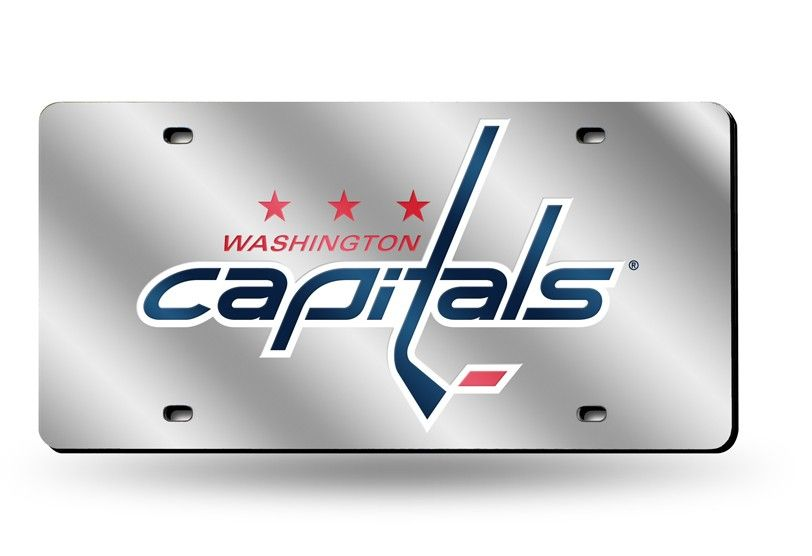 Rico Industries NHL Washington Capitals 2018 Stanley Cup Champions Metal License Plate Tag
