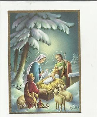 97269 Bella Cartolina Di Buon Natale Illustrata Da P. Ventura
