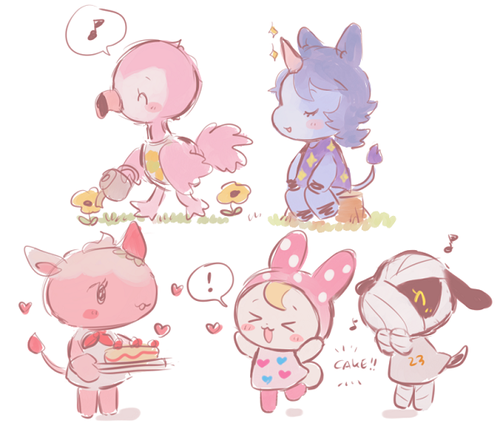 dream villagers i wish unicorns got their own villager category i