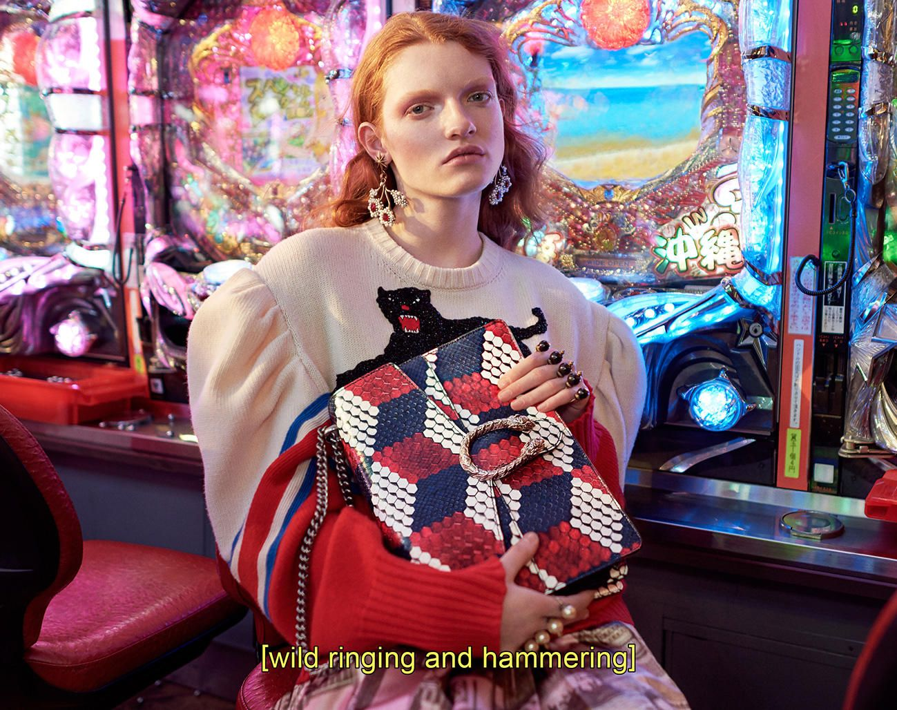 6d2127d86e3 Gucci Goes Full  Lost in Translation  for Fall 2016 Ad Campaign ...