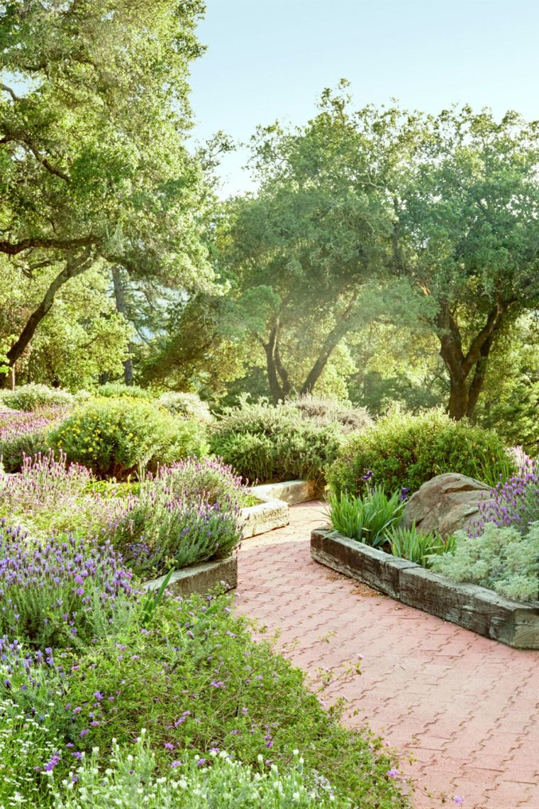 Ideas Faciles De Paisajismo Decora Tu Jardin De Forma Original Garten Design Mediterraner Garten Garten Landschaftsbau