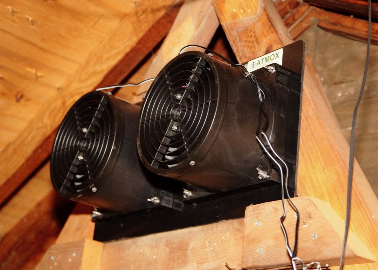 Atmox Crawl Space And Attic Controlled Ventilation Systems Flat