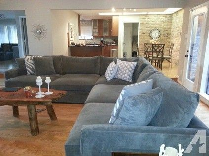 3 500 Obo Crate And Barrel Lounge Sectional Super Comfortable