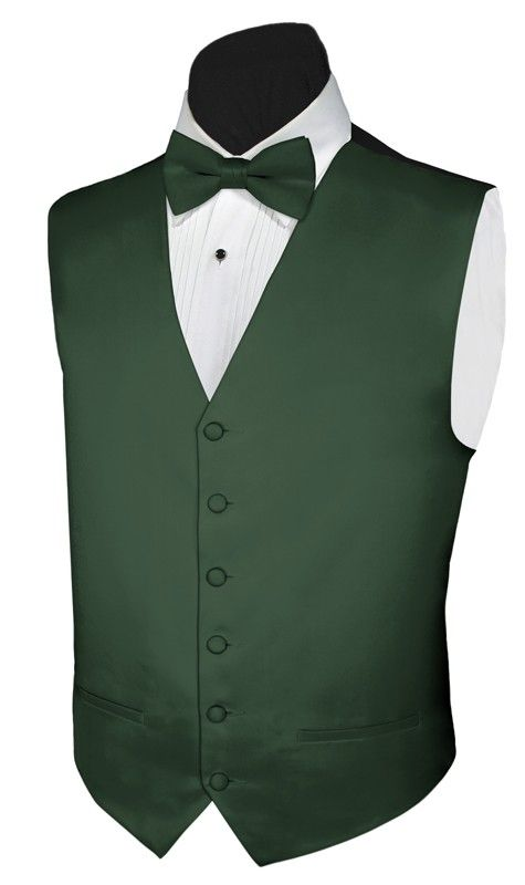 7bb90509b7c5 Mens Vest For Tuxedo And Suit Solid Satin with Tie Options in 2019 ...