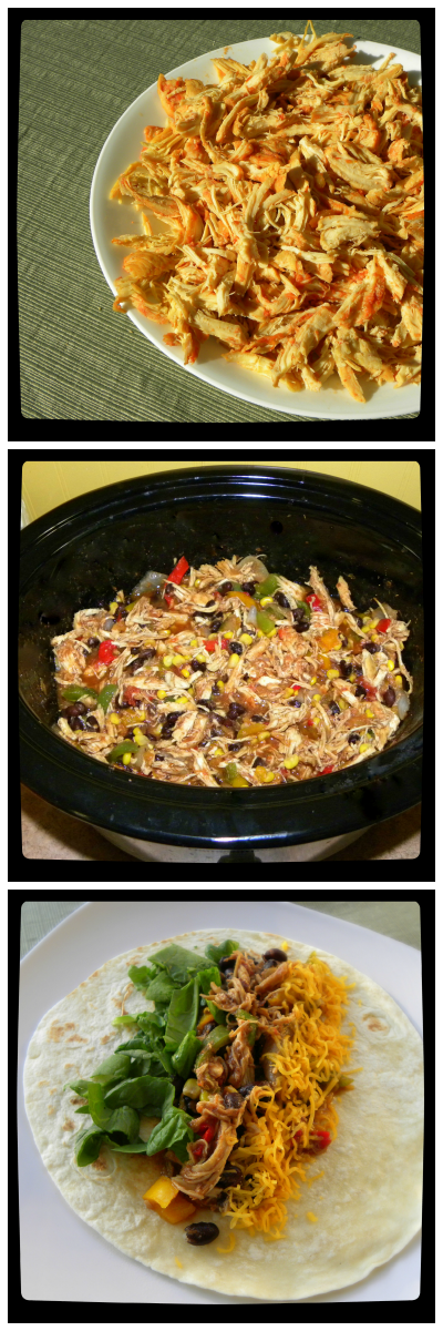 EASY! Crock Pot Mexican Chicken