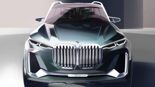 Here S What To Expect From The 2018 Bmw X7 Suv Bmw Concept Bmw Design Concept Car Design