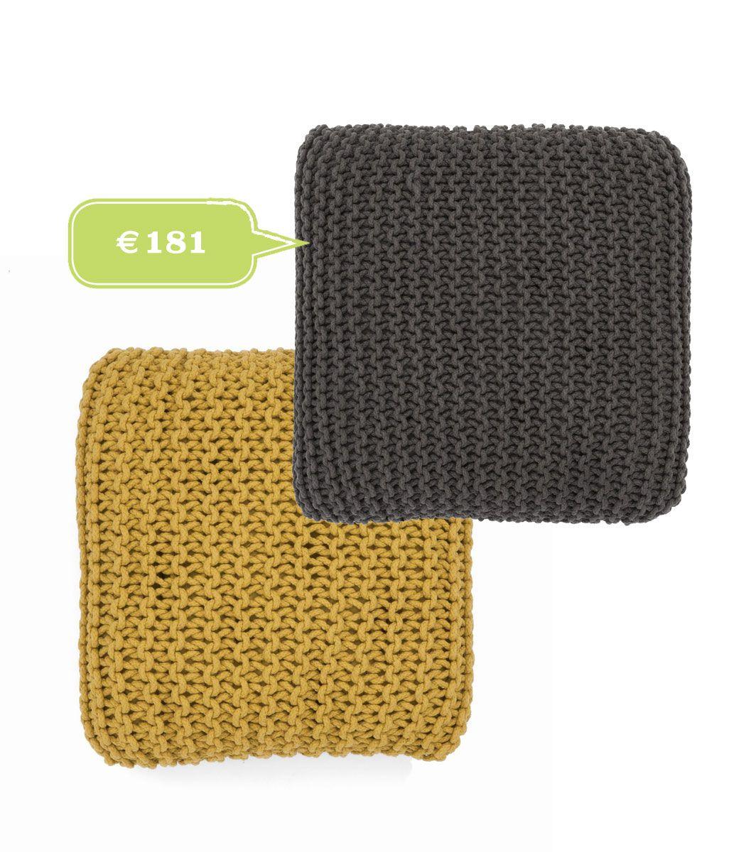 cuscini Knitted Floor Cushion